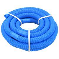 vidaXL Zwembadslang 38 mm 9 m blauw