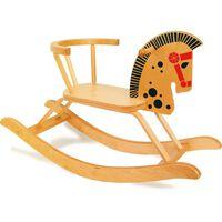Small foot - Hobbelpaard met veilige stoel en rugleuning