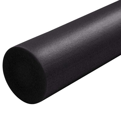vidaXL Yogaschuimrol 15x90 cm EPP zwart