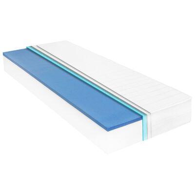 vidaXL Matras 18 cm visco-traagschuim 100x200 cm