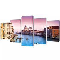 Canvasdoeken Venetië 200 x 100 cm