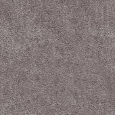 vidaXL Eetkamerstoelen 4 st fluweel lichtgrijs