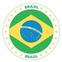 50x Bierviltjes Brazilie thema print - Onderzetters Braziliaanse vlag
