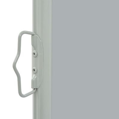 vidaXL Tuinscherm uittrekbaar 80x300 cm grijs
