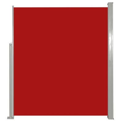 vidaXL Uittrekbaar wind-/zonnescherm 160x300 cm rood