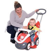 Smoby Loopauto 2-in-1 Bubble rood
