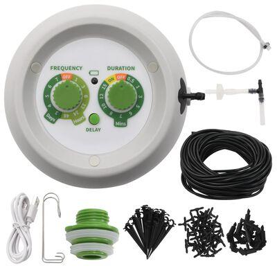 vidaXL Druppelbewateringsset automatisch binnen met controller