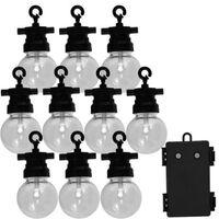 Luxform Tuinfeestverlichtingsset met 10 LED's Fiji