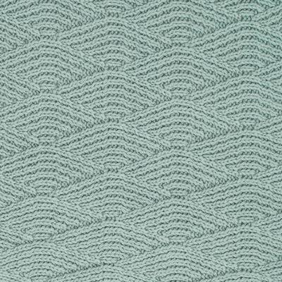 Jollein Deken River Knit 100x150 cm fleece asgroen