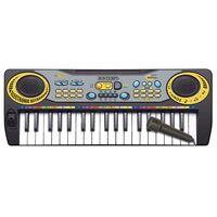 Bontempi Speelgoedkeyboard elektronisch met microfoon 37 toetsen