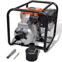 vidaXL Waterpomp benzine 80 mm 6,5 pk