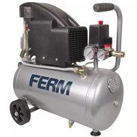 FERM Power Compressor 1,5 HP 1100 W 24 L CRM1045