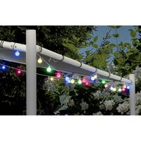 Party Lighting Feestverlichting - 80 LED lampen - multi color - 19