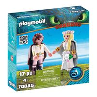 Playmobil Dragons - Bruidspaar Hikkie en Astrid (70045)
