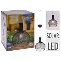 ProGarden LED Outdoor Solar Pendant Lamp Metal 18,5 cm