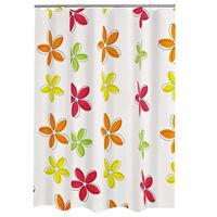 RIDDER Douchegordijn Textile bloem