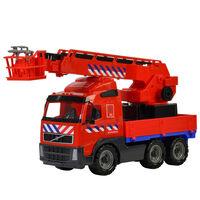 Polesie Speelgoedbrandweerauto Volvo rood