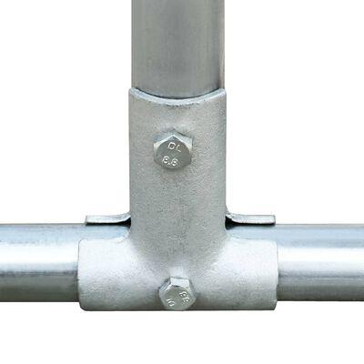 vidaXL Kippenhok 2,75x2x1,92 m gegalvaniseerd staal