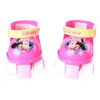 Disney rolschaatsen Minnie Mouse meisjes roze/wit maat 23-27
