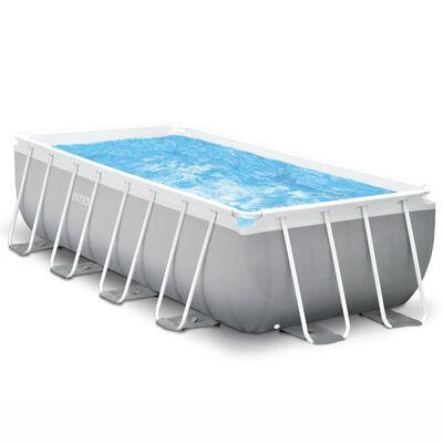 Intex Zwembadset Prism Frame rechthoekig 400x200x100 cm