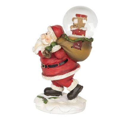Decoratie kerstman   9*6*14 cm   Multi   Kunststof   3D  