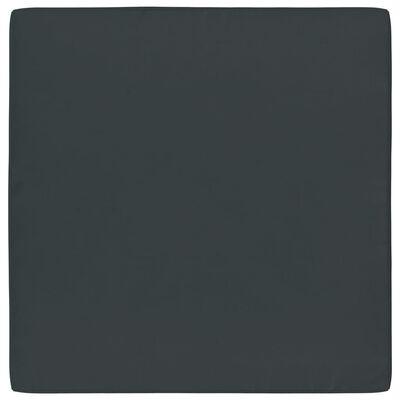 vidaXL Vloerpalletkussen 60x61,5x6 cm stof antraciet