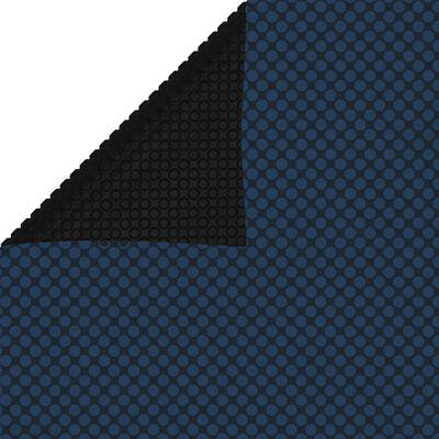 vidaXL Zwembadfolie solar drijvend 300x200 cm PE zwart en blauw