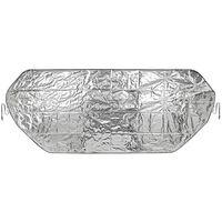 Auto anti-ijs/zonnefolie deken extra groot 100 x 250 cm -