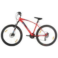 vidaXL Mountainbike 21 versnellingen 29 inch wielen 48 cm frame rood