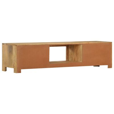 vidaXL Tv-meubel 140x30x32 cm massief mangohout