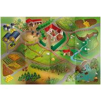 House of Kids buitenspeelkleed boerderij waterdicht 140 x 200 cm