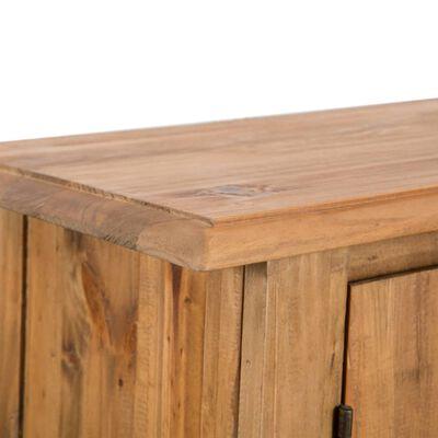 vidaXL Badkamermeubelset massief gerecycled grenenhout