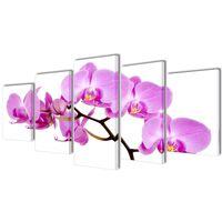 Canvasdoeken Orchidee 200 x 100 cm