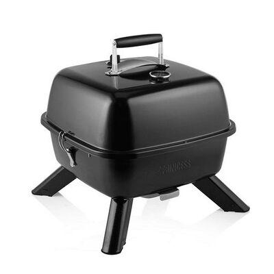 Princess Barbecuegrill draagbaar hybride 2000 W zwart