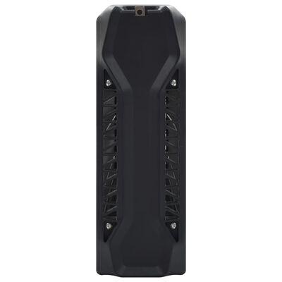 vidaXL Vliegendoder 40 W aluminium ABS zwart