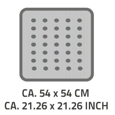 RIDDER Douchemat anti-slip Capri 54x54 cm pergamon