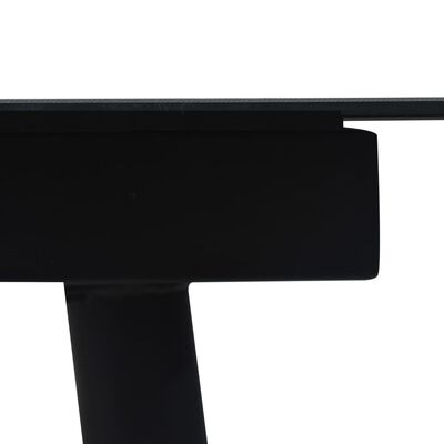 vidaXL 7-delige Tuinset PVC-rattan zwart