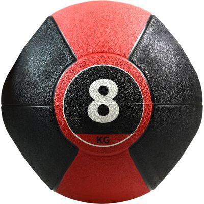 Pure2Improve Medicijnbal met handvatten 8 kg rood
