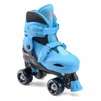 Xootz rolschaatsen Quad Skates jongens blauw maat 32/35,