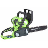 Greenworks Kettingzaagset met 40 V 2 Ah accu G40CS30 30 cm 20117UA