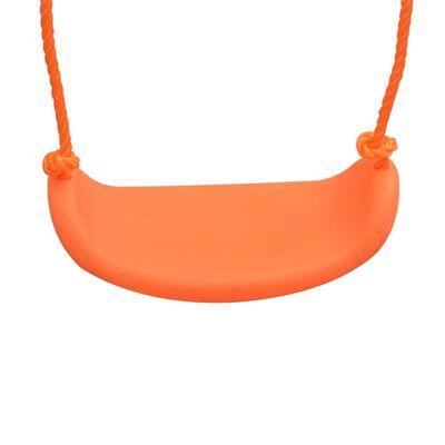vidaXL Schommel enkel oranje