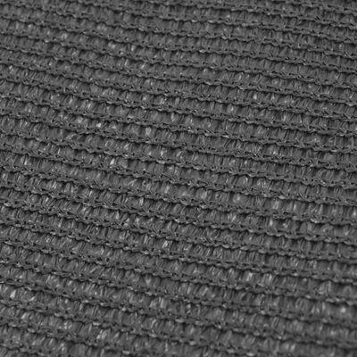 vidaXL Tenttapijt 250x400 cm antraciet