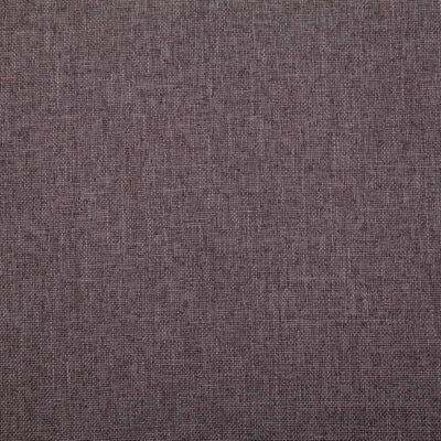 vidaXL 2-delig Bankstel stof taupe