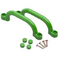 Swing King Speeltoestel handgrepen 2 stuks 247x68 mm groen 2552044