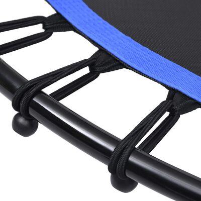 vidaXL Fitnesstrampoline met handgreep 102 cm