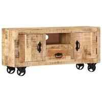 vidaXL Tv-meubel 120x30x50 cm ruw mangohout