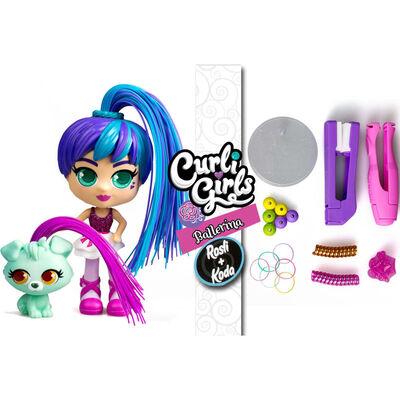 Silverlit Speelgoedset Curli Girls Rosli and Koda meerkleurig