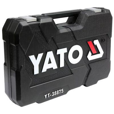 YATO Ratelsleutelset 126-delig YT-38875