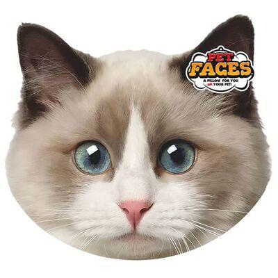 Pet Faces Huisdierenkopkussen Ragdoll kat