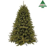 Triumph Tree - Forest Frosted Pine Kerstboom Groen Tips 2037